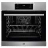 AEG BES255011M Built in Electric single oven