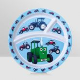 Tractor Ted Bamboo Divider Plate Tractor