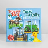 Tractor Ted top and tails matching game