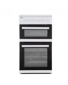 Beko 50cm Electric Double oven with grill cooker