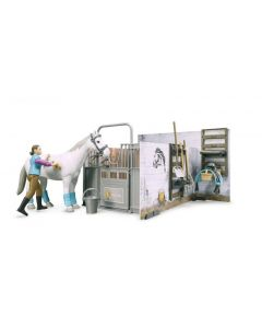Bruder Horse and Stable with accessories 62506
