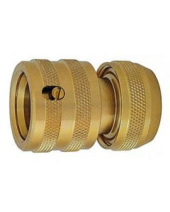 """CK 1/2"""" Automatic Water Stop Brass Hose Connector G7913"""