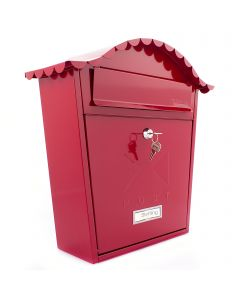 Burg Wachter Classic Post Box Red