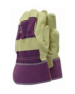 Town & Country Washable Leather Rigger Gloves Medium