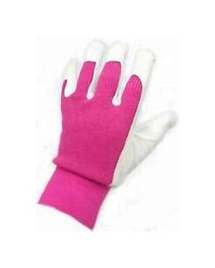Town & Country Premium Leather & Suede Gloves Medium