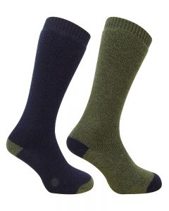 Hoggs Country Long Sock Twin Pack