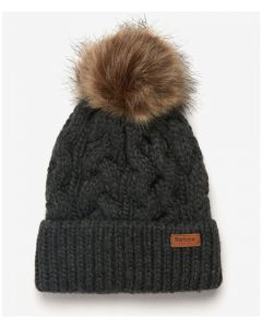 Barbour Penshaw Beanie Charcoal