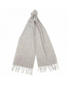 Barbour Lambswool Scarf Grey