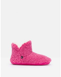 Joules Cabin Luxe Slipper Pink