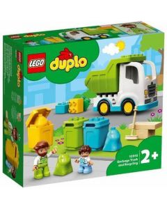 LEGO Duplo Garbage Truck + Recycling