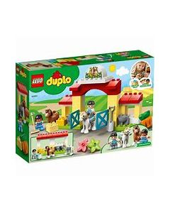 LEGO Duplo Horse Stable + Pony Care
