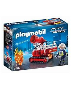 Playmobil City Action Fire Water Cannon 9467