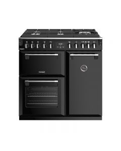 444410271 Stoves Richmond Deluxe S9000df Gtg Dual Fuel 90Cm Anthracite