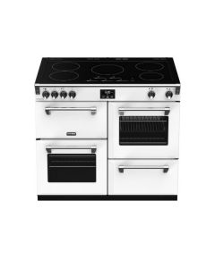 Stoves 444410951 Icy White Induction Range Cooker