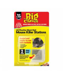The Big Cheese All Weather Block Bait Mouse Station
