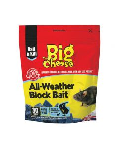 The Big Cheese All Weather Block Bait 30 pack