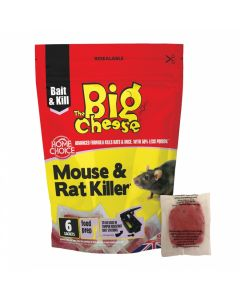 The Big Cheese Mouse + Rat Killer 6 pack