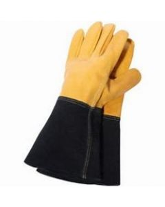 Town & Country Premium Leather Gauntlet Gloves Large