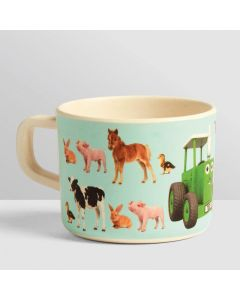 Tractor Ted My First Bamboo Mug Baby Animals