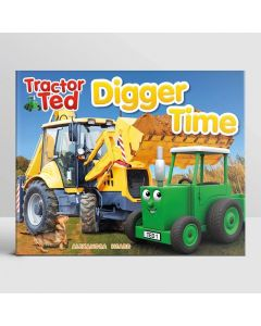 Tractor Time Book Digger Time