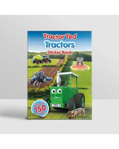Tractor Ted Sticker Book Tractors