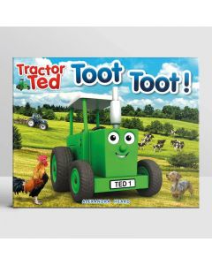 Tractor Ted Book Toot Toot