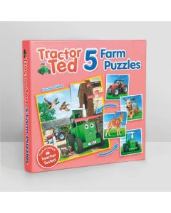 Tractor Ted 5-Farm Puzzles