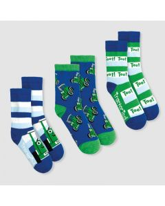 Tractor Ted Socks - 3 Pack
