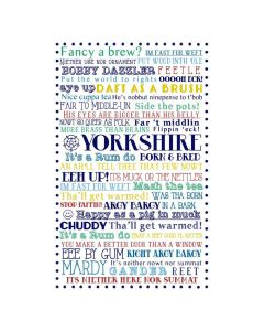 Ulster Weavers Cotton Tea Towel Yorkshire Born and Bred