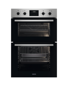 Zanussi Built In Electric Double Oven - S/S